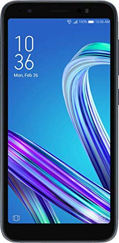 Asus - ZenFone Live with 16GB Memory Cell Phone, 5.5in IPS Touch Screen (Unlocked) - Midnight Black (Renewed)