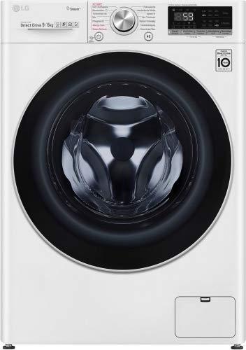 LG V7 WD 96H1 Waschtrockner - 9 kg Waschen / 6 kg Trocknen - Weiß, 1400 U/Min