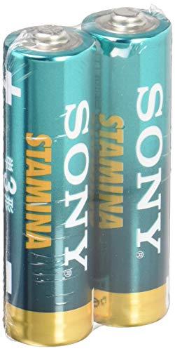 ソニー SONY アルカリ乾電池 スタミナ 単1形 2本パック LR20SG-2PD