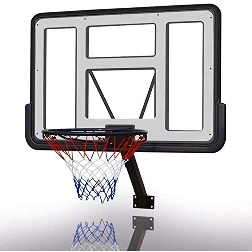 ZXQZ Outdoor Indoor Basketball Wandhalterungen, Mini Inground Basketball Hoop Set, Ideal für Sie, Die Basketball Lieben (110x75cm)