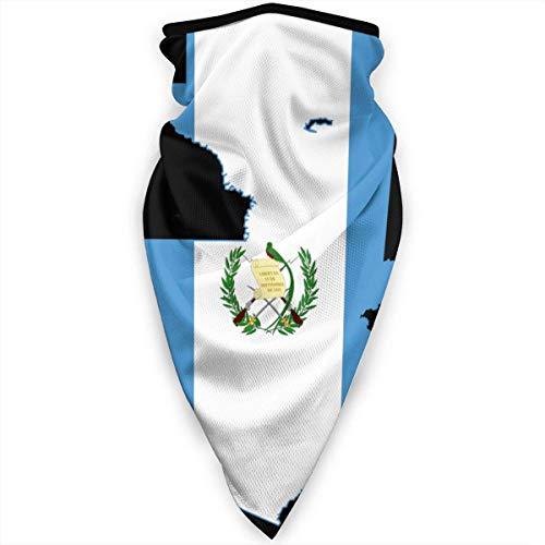 Mathillda Guatemala vlag kaart gezichtsmasker hals gamassen bandana sjaal bivakmuts multifunctionele hoofddeksel