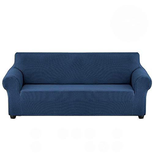 LXWLXDF-Funda de sofá Alta Elasticidad Impermeable Sofá Cover, Cubierta del Amortiguador del sofá/sofá Cubierta Completa del Protector Cubrir los Muebles, con elástico Inferior de Fibra de poliéster