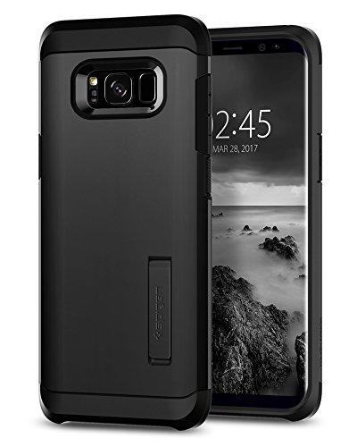 Spigen 571CS21695 Tough Armor für Samsung Galaxy S8 Plus Hülle, Doppelte Schutzschicht Handyhülle für Extrem Fallschutz Schutzhülle Case Schwarz