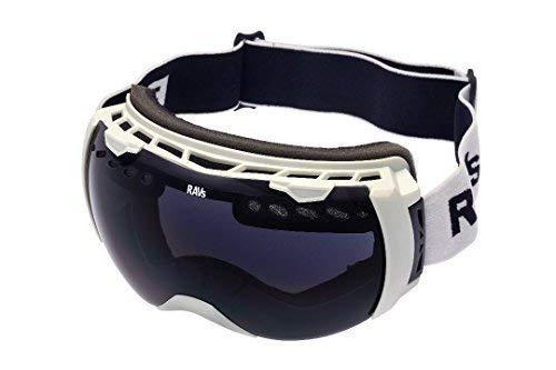 Ravs Skibril snowboardbril veiligheidsbril sneeuwbril ook voor brildragers met Black Pearl glas