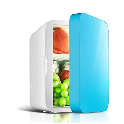 LJJOO 6 litros portátil Compacto Insulation Gabinete Mini refrigerador for el Dormitorio, Oficina, Dormitorio, Car-Grande for el Cuidado de la Piel y cosméticos Frigoríficos Mini