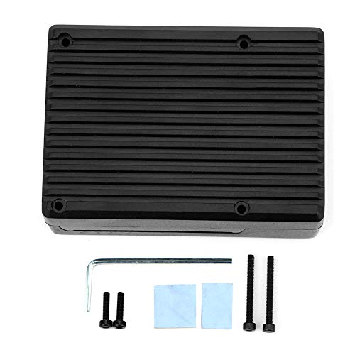 Raspberry Pi 4 Aluminum Alloy Case Protective Shell Set Protective Enclosure Motherboard Protection for Raspberry Pi4