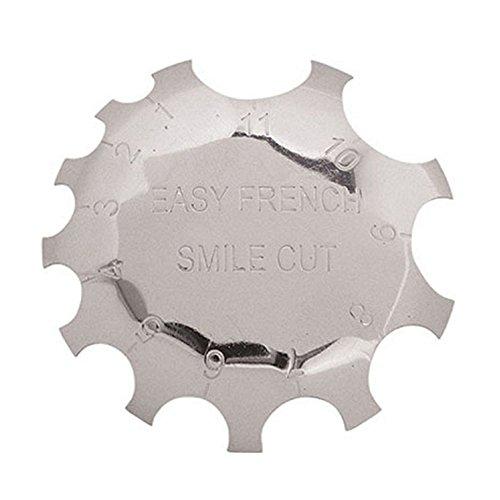 Blue Vesse Kantenschneider Cutter Clipper Styling-Nagel-Gel Einfache Französisch Smile Line-Tools