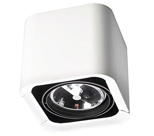 LEDs-C4 DM 1100-14-00 Plafonnier baco 1xg53 75w Blanc