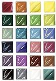 AMACO Liquid Non-Toxic Lead-Free Underglaze Master Pack, 2 oz Jar, Assorted Colors, Set of 24