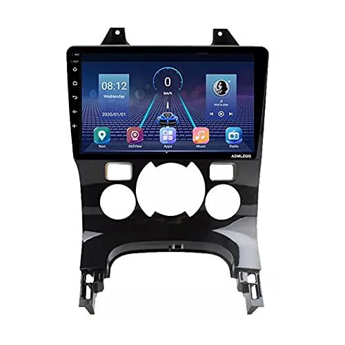 Per Peugeot 3008 5008 2008-2016 Android 10.0 Autoradio Stereo Unità Principale 9 Pollici HD Navigazione GPS, Bluetooth FM Controllo Del Volante Videocamera Vista Posteriore,4 core,4G+WIFI: 2+32G