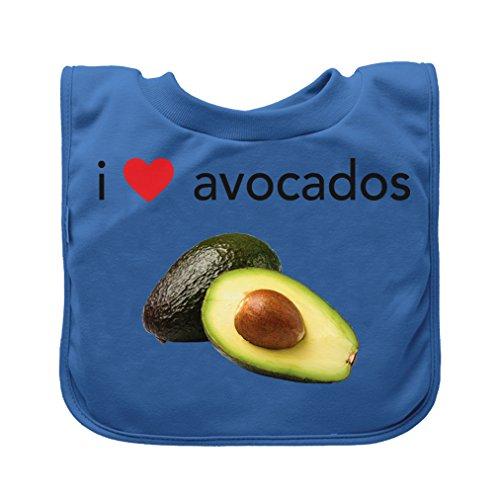 Green Sprouts - Bavoir a enfiler - Bleu Avocados - 9-18m