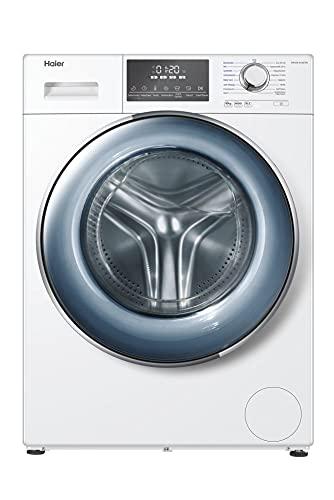 Haier HW100-B14876N Waschmaschine / 10 kg / Besonders leise / Direct Motion Motor / XL-Trommel / Dampf-Funktion / Vollwasserschutz / ABT / Eco 40-60 Programm