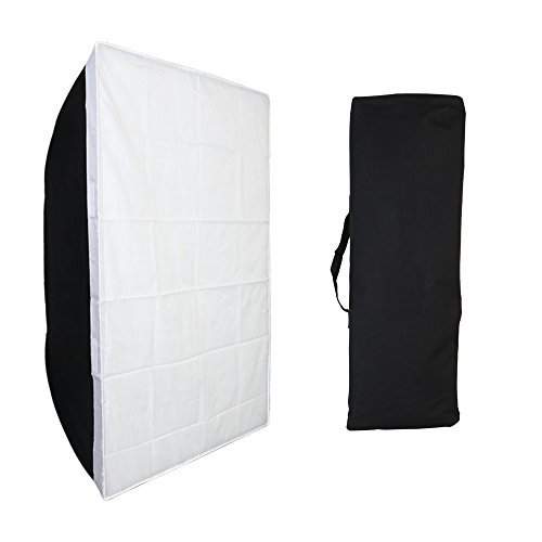 "Fomito Softbox portátil rectangular de 60 X 90 cm / 23,6 ""X 35,43"" para Godox, para Jinbei, para Neewer Strobe / Flash Light y otra luz de flash de estudio con Bowens Mount"