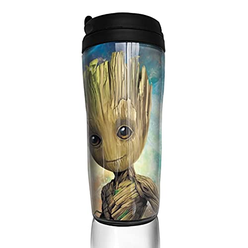 Groot - Taza de café reutilizable con aislamiento para bebidas calientes y frías, té y cerveza