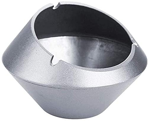 Cenicero Aluminio Aleación Oficina Balcón Asegurio Al Aire Libre Sala de Estar Amplio Capacidad A Prueba de Viento Dormitorio Interior Cigarrillo Estante Caja de Almacenamiento Estudio Sala de es