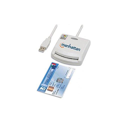 Manhattan Lettore di Smart card USB esterno I-CARD CAM-USB