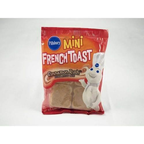 Pillsbury Cinnamon Rush Mini French Toast, 2.64 Ounce -- 72 per case.