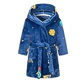 JYDQM Albornoz y Pijama de Terciopelo para niños, de niña, Ropa de niña, Ropa de hogar Abrigada de Invierno, de niño, Pijama (Color : A, Size : 8)