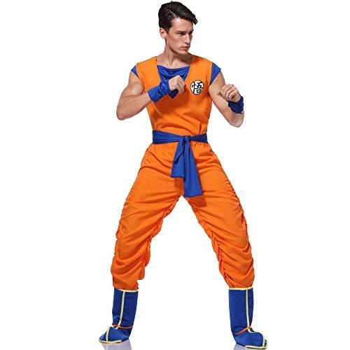 hengGuKeJiYo Dragon Ball z Goku Kostüm Anzug Anime Dragon Ball Sohn Goku Cosplay Kostüme Uniformen Erwachsene Kostüm