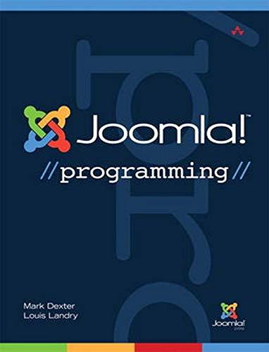 Joomla! Programming [Lingua inglese]