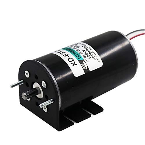 DC Moter, DC12V/24V Adjustable Speed DC Motor 180W Permanent Magnet DC Motor 2000/4000 RPM (DC 12V 2000RPM)