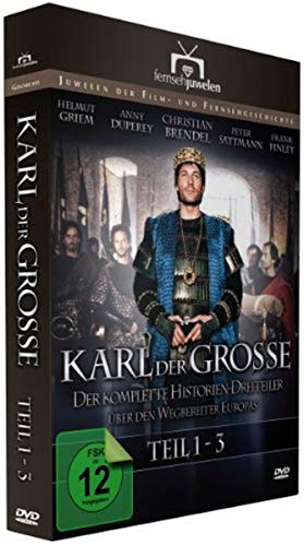 Karl der Große - Der komplette Historien-Dreiteiler (Fernsehjuwelen) [2 DVDs]