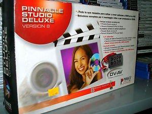 pinnacle studio deluxe version 8 con scheda di acquisizione