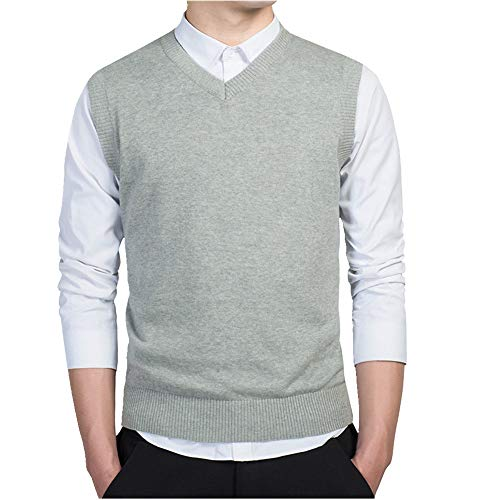 El otoño de los hombres suéter chaleco suéter suéter de otoño de los hombres suéter chaleco suéter