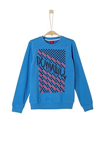 s.Oliver Jungen 61.908.41.2776 Sweatshirt, Blau (Blue 5542), (Herstellergröße:M/REG)
