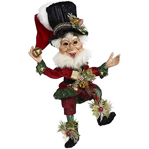 Mark Roberts 2020 Limited Edition Collection Bah Humbug Elf Figurine, Small 12'' - Deluxe Christmas Decor and Collectible