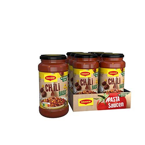 Maggi Pasta Sauce Mexicana Basis Nudelsauce mit natürlichen Zutaten, 6er Pack (6 x 500g)