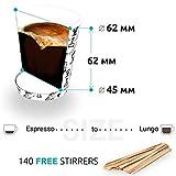 Zoom IMG-2 cupcup 140 bicchierini caffe carta