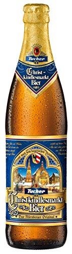 20 Flaschen a 0,5L Tucher Christkindlesmarkt Bier Festbier Weihnachtsbier hell 6,0% Bier Ur Bock inc. 1.60€ MEHRWEG Pfand
