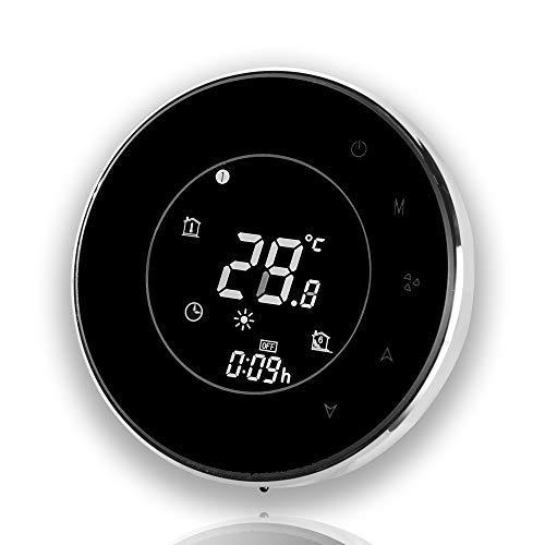 BecaSmart Serie 6000 Termostato Smart Wi-Fi Caldo Freddo per Ventilconvettore a 4 tubi Programmabile Nero