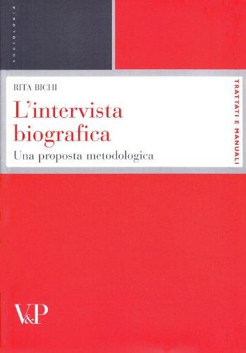L'intervista biografica. Una proposta metodologica