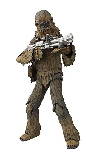 S.H. Figuarts Star Wars Chewbacca Solo A Star Wars Story 175 mm ABS PVC Figure (Han Solo)