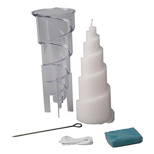 Mixed-Store 604123 en pirámide Velas Colada Form