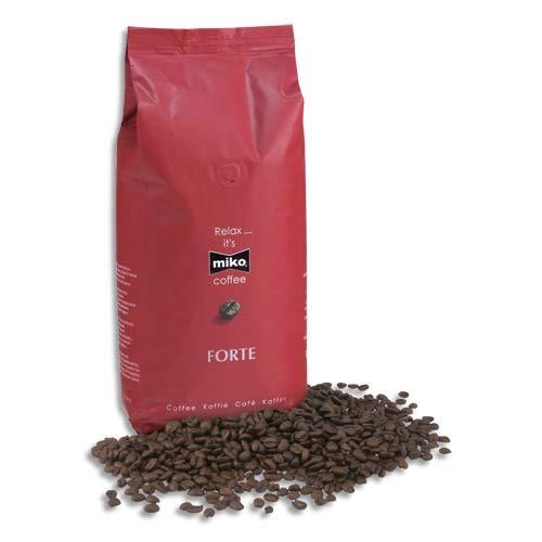 Miko – Kaffee-Gelberéfiés – gemahlene Kaffee oder in Miko – Packung mit 1 kg Kaffee 70 % Arabica