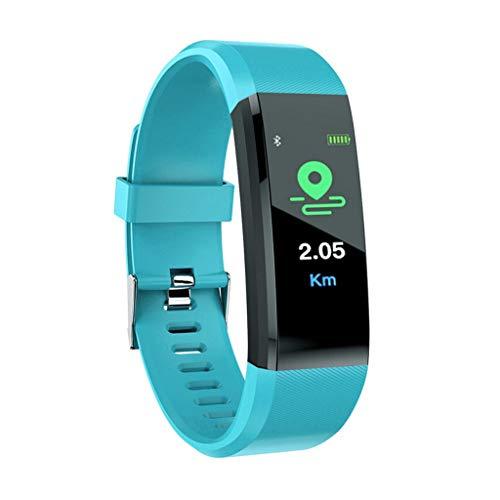 Cebbay Pulse Fitness Tracker con Monitor de Ritmo CardíAco,Reloj de Seguimiento de Actividad,Pulsera Inteligente Resistente Al Agua con Contador de Pasos para Caminar,Contador de Calorias - Verde
