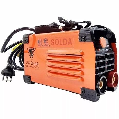 Maquina de Solda Inversora 225 Amperes 220v Mini MMA 225