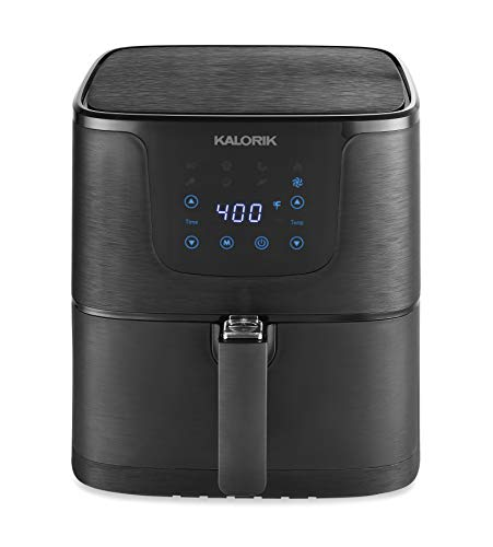 Kalorik 3.5 Quart Matte Black Digital Air fryer Pro