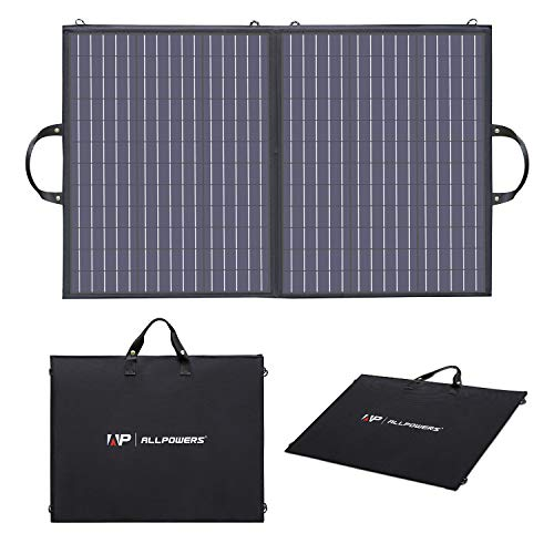 ALLPOWERS 100W Portable Solar Panel Charger for...