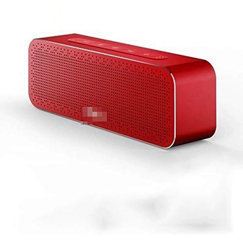 HQSC Speaker Bluetooth Speaker Silicone Portable Subwoofer Wireless Speaker Bluetooth 4.2 3D Digital Sound Speaker Hands-free MIC TWS Outdoor (Color : 1)