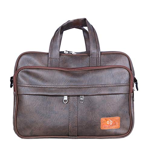 Tom & Gee Leather Messenger Bags - Brown Pack of 1 Bags (Brown)