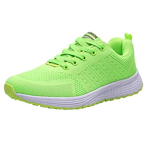 ZODOF zapatos deportivos mujer Moda Malla Respirable