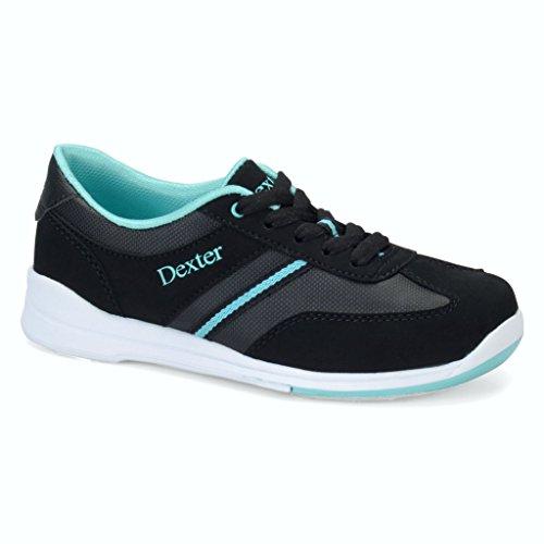 Dexter Dani Bowling Shoes, Black/Turquoise, 7.5