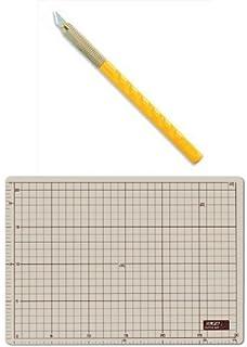 オルファ(OLFA) アートナイフ 10B カッターマットA4セット