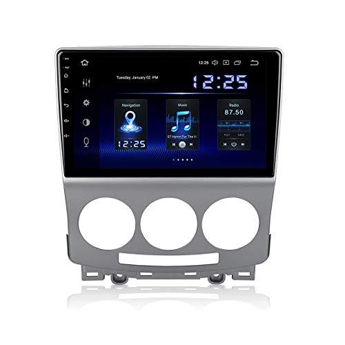 WHL.HH Multimedia Jugador para Ma zda 5 2005-2010 Auto Auto GPS Navegación Android 10.0 Radio Estéreo Video Receptor Direccion Rueda Control Auto Jugar / 4G WiFi/Dab/SWC