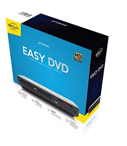 Digiquest lettore Dvd Easy, Nero