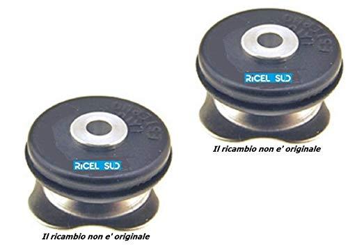 EuroStore07 2 VALVOLE ADATTABILI A LAGOSTINA di Sicurezza per PENTOLA A Pressione 3-5 - 7-9 LT Ricambio Non Originale